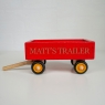 Wooden Tractor And Trailer Toy