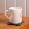Personalised Valentines Heart Handle Mug